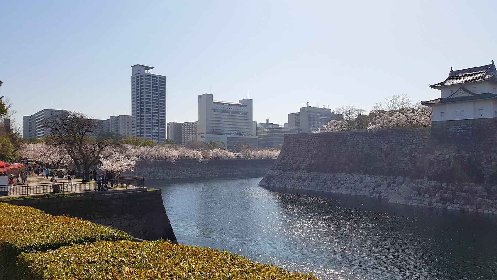 春の大阪城3
